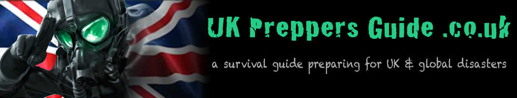 UK Preppers Guide Prepping and Survival Website Header Logo