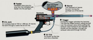 paintball gun diagram