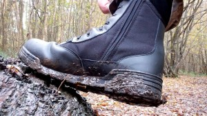side view of the Magnum Original Side Zip Tactical Boots