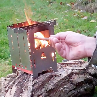 bushbox survival stove XL