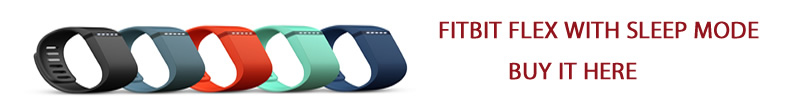 FITBIT FLEX WITH SLEEP MODE