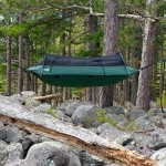 LAWSON BLUE RIDGE HAMMOCK over rocks