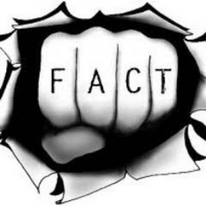 fact tattoo on fist