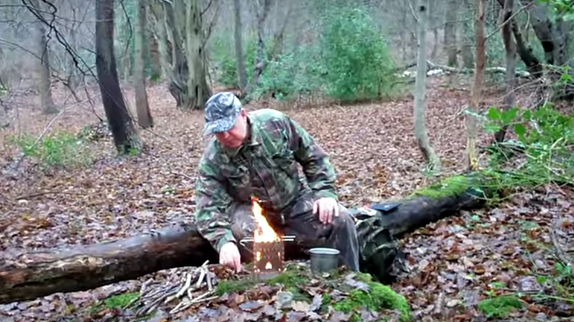 bug out using the bushbox xl stove