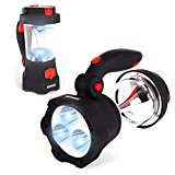 Duronic Hurricane 4 In 1 Rechargeable Wind-Up Camping LED Lamp Lantern Torch USB