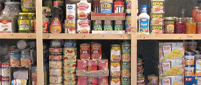 We ... & Basic Food Storage For Prepping For Disasters And SHTF