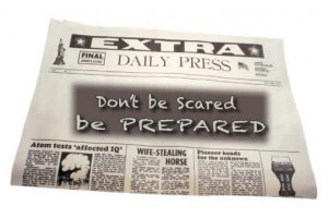 BE PREPARED - UK preppers newsletter