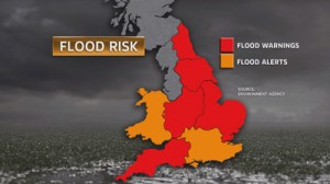 flooding risk warning