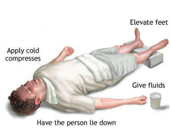heatstroke diagram