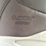 I particularly like the style of the cow branding etched into the rear of the boots logo at the side