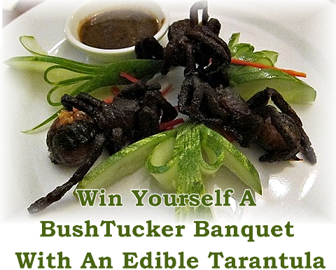 Edible Insects Bug Tarantula Header 2 Uk Preppers Guide