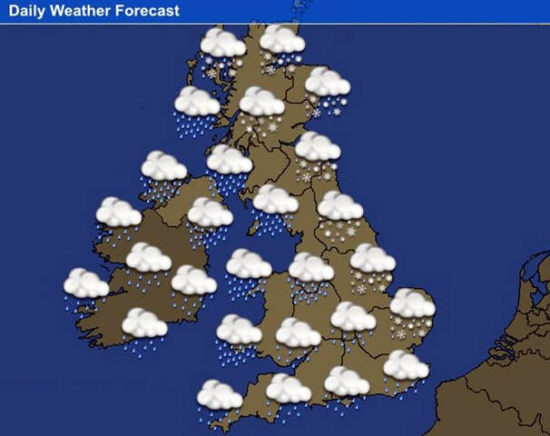 Map Of Uk Weather.Map Of Uk Weather